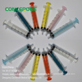 Disposable Syringe with Colorful Plunger