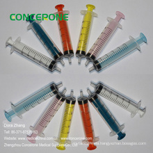 Reusable Jello Shot Syringe with Colored Plunger for Industrial
