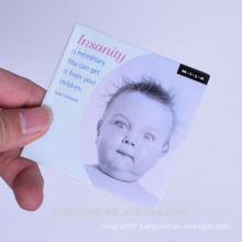 hot selling personalized cute little baby design tin plate fridge magnets for promotion