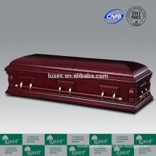 LUXES American Style Cheap Wooden Casket Nottingham_Casket Manufacturers