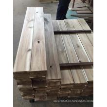 Temporizador de pisos de madera de acacia de ABC Grade Plain.