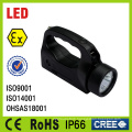 Rechargeable Battery Explosion Proof Portable LED Torch Light From China