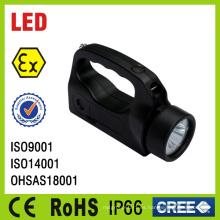 Impermeable recargable a prueba de explosiones portátil LED antorcha luz de China
