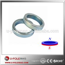 Imán magnético de la capa del Zn del anillo Imanes permanentes de NdFeB