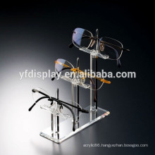 Clear Acrylic Floor Standing Eyeglasses Sunglasses glasses Display Stand Rack Holder