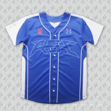 Malla de venta baratos en blanco Popular Adult Baseball Jersey