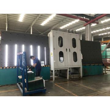 Machine à laver en verre en acier inoxydable de hauteur 2000