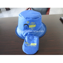 Promotionele Polyester opvouwbare hoed W / Pouch