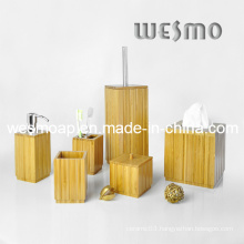 Sanitaryware Square Bamboo Bath Coordinate (WBB0620A)