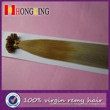 Extension de cheveux de plume de Grizzly long et mince pour la partie