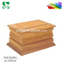 urnes de cendres d'incinération en bois JS-URN139