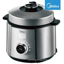 Midea Electric Pressure Cooker, 80 kpa, LED multi cooker, all-in-1 t1.7mm pot, 24h timer, 14 programs, Saute, Steamer, Slow, Rice, Yogurt, DIY