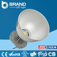 CE et ROHS approuvé Garantie de 5 ans Boîtier en aluminium LED High Bay Light, 100w LED High Bay Light