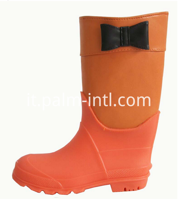 Injection PVC Rain Shoes