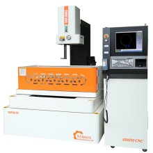 Cutting parameters generate automatically, easy operation CNC wire cut edm machine