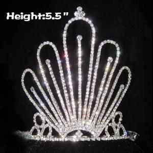 Venta al por mayor Unique Crystlal Queen Crowns