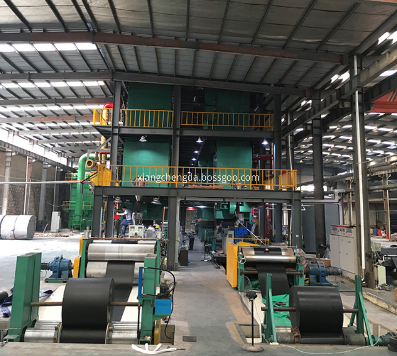 Pvcpvg Conveyor Belt Process Line