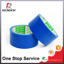 Simple installation Resists UV Rays Blue Colored Masking Tape