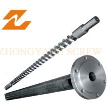 Baril à vis d'extrudeuse de film CPP Baril à vis bimétallique Baril à vis PVC