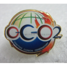 Offset Printed Metal Lapel Pin Badge with Epoxy (badge-106)