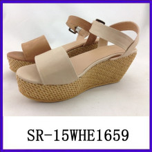 2015 hot selling women sandals fuzzy sandal new model women sandals