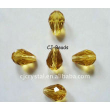 Water Drop Crystal Beads,glass beads for chandelier,murano glass beads