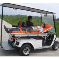 Rescue golf cart for hospital