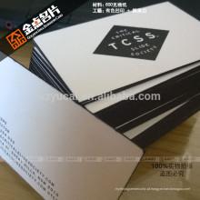 Hot Stamping letterpress paper cartão de visita grátis