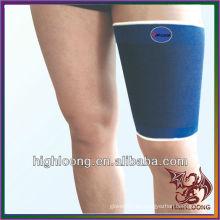 Venta al por mayor estiramiento Nylon ajustable duradera compresión muslo manga