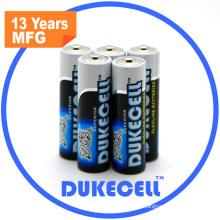 Щелочные батареи размера АА Лр6 сокета AM3 1.5 V батареи
