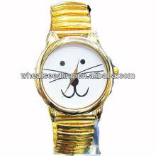 2013 gato design quente venda amante relógio JW-10