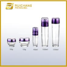 Bouteilles et bocaux en verre pour l'emballage cosmétique