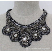 Леди моды Кристалл коренастый ювелирные изделия ожерелье колье бижутерии (JE0173)
