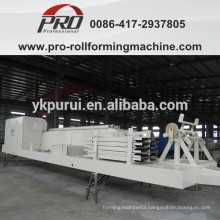 PROABMUBM curve roof roll forming machine