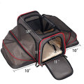 Recycled Travel Hiking Dog Cat Pet Carrier Bag