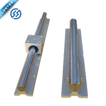 Heavy Duty Linear Motion TBR30 Round Linear Guideway para CNC Router