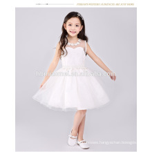 Wholesale latest pretty sleeveless girls western princess party formal birthday dress for baby girl