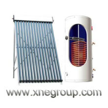 Sola energy heat pipe collector