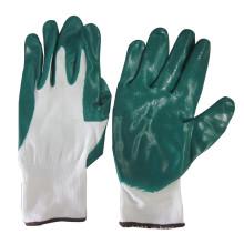 NMSAFETY Guantes de jardinería de caucho de nitrilo de nylon Guantes de trabajo de seguridad laboral