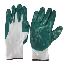 NMSAFETY Nylon Nitrile Rubber Gardening Gloves Labor Safety Working Gloves