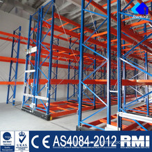 Nanjing Jracking Warehouse Storage Steel Racks Shuttle Rack Shelving Divider