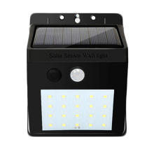 Best quality waterproof  IP65 ABS plastic 20w   Auto Dusk to Dawn   led solar wall light