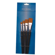 wooden handle artist brush