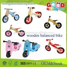 Juguetes de madera educativos de la bici de los cabritos del nuevo diseño para 3-5 años