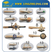 Cravate maçonnique en métal pour homme