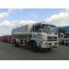 Venda quente dongfeng 12-15m3 caminhões de alimentação a granel para venda, caminhão de grão a granel 4x2