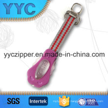 Hot Sales Woven Zipper Puller with Custom Design Welcomed