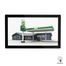 32 Inches Digital Signage Kiosk For Gas Station