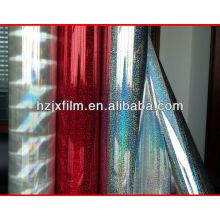 Transparente OPP / PET Película holográfica