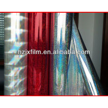 Transparent OPP/PET Holographic film